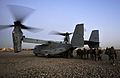 RAF Regiment Soldiers Deploy on US Osprey Rotary Wing Aircraft on Operation Backfoot in Afghanistan MOD 45153787.jpg