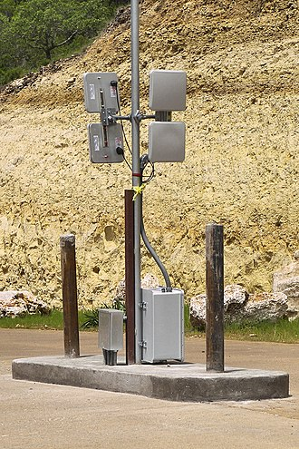 Radio-frequency identification - RFID antenna for vehicular access control