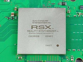 "PlayStation 3 technical specifications - PS3 GPU-RSX ""Reality Synthesizer"""
