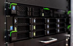 Primergy - 1U and 2U rack servers
