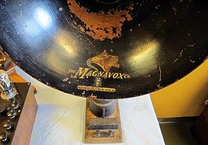 Magnavox - Magnavox brand on a vintage amplifier