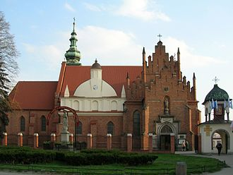 Radom - Bernadine church and monastery