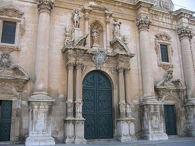 Facciata della Cattedrale - Ragusa
