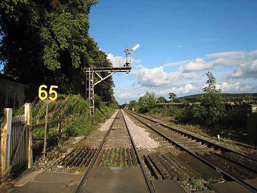 Railway at Bardon Mill - geograph.org.uk - 2004063