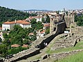 Ramparts of Tsarevets Fortress with City Backdrop - Veliko Tarnovo - Bulgaria - 03 (42315816385).jpg
