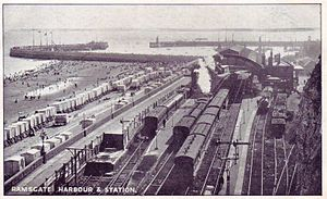 Ramsgate Harbour railway station - Image: Ramsgate Harbour railway station
