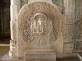 Ranakpur-Jain-Marble-Temple-wall-Frescoes-Apr-2004-02.JPG