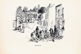 Pont-Aven School - Image: Randolph Caldecott Pont Aven, 1881