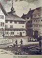 Rapperswil - Heiliggeistspital - Hirschen 1833.jpg