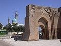 Raqqa, Reste des Bagdhdad Tores (Bab Baghdad) der Alten Stadtmauer (As-Sur), 8. Jhdt. (38674542042).jpg