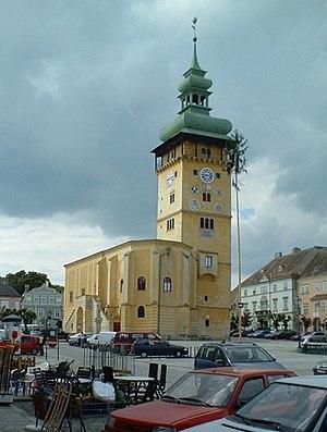 Retz - The town hall