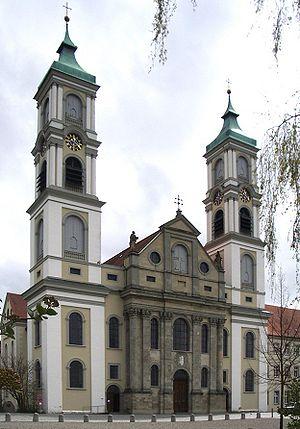 Weissenau Abbey - Image: Ravensburg Weissenau Klosterkirche