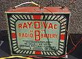Ray-O-Vac Radio 'B' Battery, 45 volts, French Battery Company, Madison, Wisconsin - National Electronics Museum - DSC00237.JPG