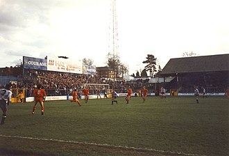 Thames Valley Royals proposal - A Reading match at Elm Park in 1992