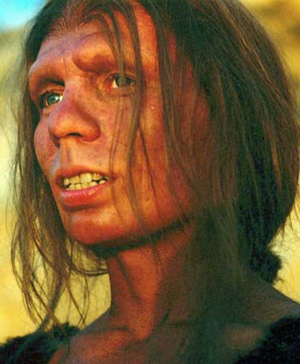Reconstruction of Neanderthal woman