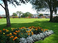 Recreation ground and play area, Church Street, Bedwas - geograph.org.uk - 1162202.jpg