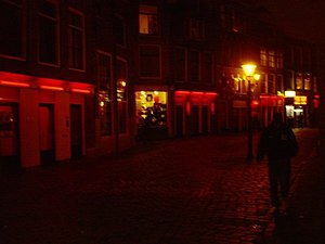 English: Red Light District in Amsterdam