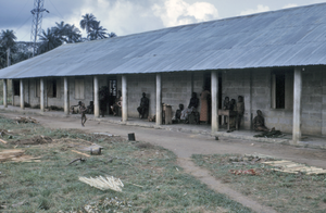 Refugee health - A hospital in a camp for refugees of the Nigerian-Biagfran Civil War, late 1960s (CDC)