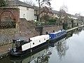 Regent's Canal boats, seen from St Pancras Way - geograph.org.uk - 1712549.jpg