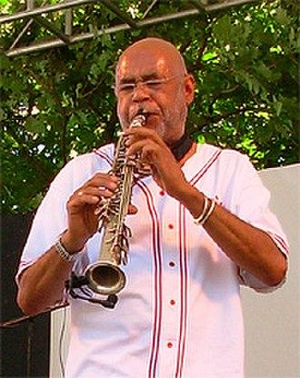 Reggie Houston - Houston performing in Portland, Oregon in 2006