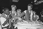 Regilio Tuur, Ronald Florijn, Monique Knol, Nico Rienks 1988.jpg