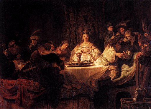 Rembrandt - The Wedding of Samson - WGA19100