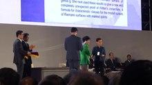 File:Remise de la médaille Fields à Maryam Mirzakhani.webm