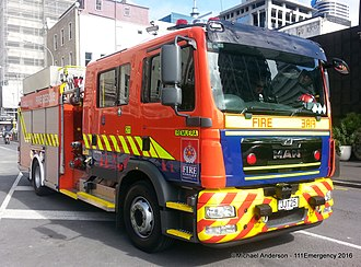 Fire and Emergency New Zealand - Image: Remuera 211
