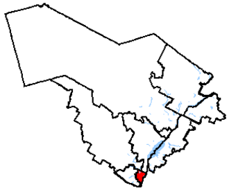 Repentigny (electoral district) - Repentigny in relation to other Quebec federal electoral districts