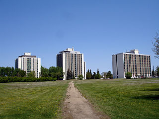 Neighbourhood in Saskatoon, Saskatchewan, Canada