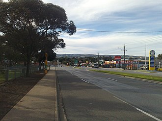 Reynella, South Australia - Sherriffs Road, looking east, circa 2007