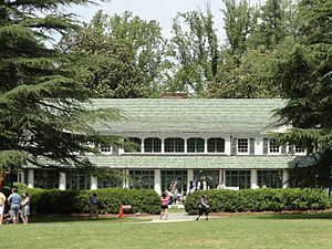 Reynolda House Museum of American Art - View from front lawn
