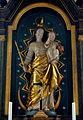 Rheinbay, katholieke filiaalkerk Sint-Sebastiaan, Madonna in hoogaltaar.JPG