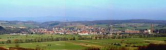 Rhumspringe mit dem Rotenberg und Harz im Hintergrund