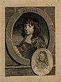 Richard Gibson, a dwarf to Charles I, with a small roundel o Wellcome V0007097.jpg