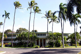Fort Shafter United States Army Pacific headquarters in Honolulu, Hawaii, USA