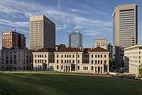 Richmond Federal Appeals Court and skyline VA1.jpg
