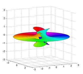 Richmond surface - Richmond surface for m=2.