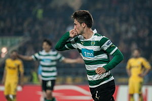 Ricky van Wolfswinkel - Van Wolfswinkel playing for Sporting CP in 2012