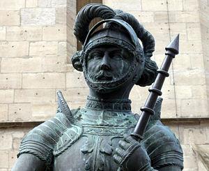 Ulrich, Duke of Württemberg - Statue of Ulrich in Balingen (Zollernalbkreis)