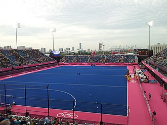 Field hockey at the 2012 Summer Olympics - The Riverbank Arena hosted the field hockey tournaments.