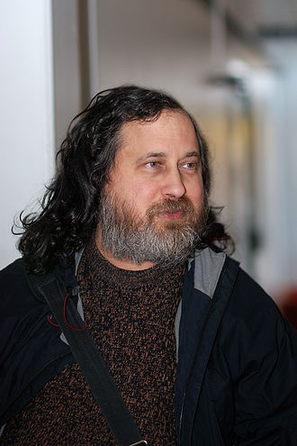 Free software - Richard Stallman, founder of the Free Software Movement (2009)