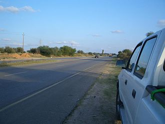 Libyan Coastal Highway - Tripoli—Misrata double-highway section of the highway (2004)