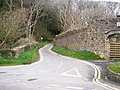 Road up past Amroth Castle to the church and Llanteg - geograph.org.uk - 1292590.jpg