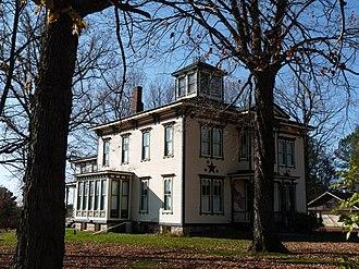 Greenwood, Wisconsin - Image: Robert Schofield house