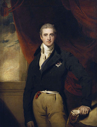 Marquess of Londonderry - Robert Stewart, Viscount Castlereagh, British Foreign Secretary, who became the second Marquess of Londonderry in 1821
