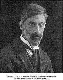 Robert W. Paul British cinema pioneer