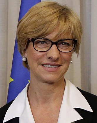 Italian Minister of Defence - Image: Roberta Pinotti Portrait