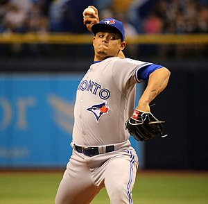 Roberto Osuna - Osuna with the Toronto Blue Jays in 2016