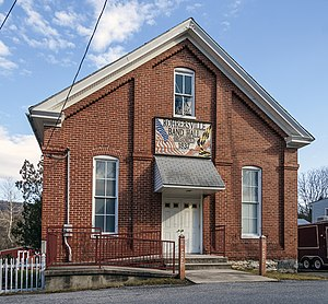 Rohrersville, Maryland - The Rohrersville Band Hall in 2012